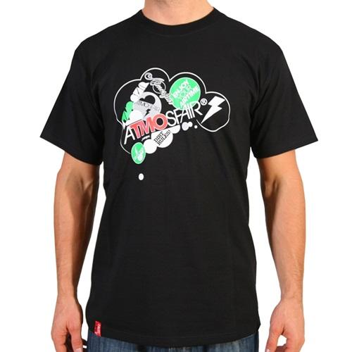 AtmosFair - Wolke t-shirt, Svart