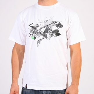 Atmosfair - Wildstyle t-shirt, Vit