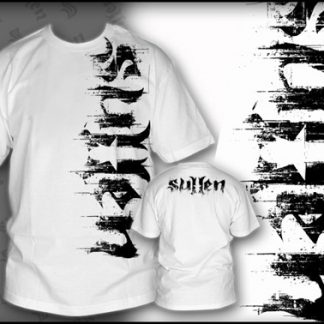 Sullen - Distress t-shirt, Vit