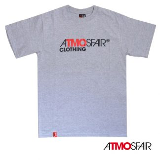 AtmosFair - Label T-Shirt, Grå