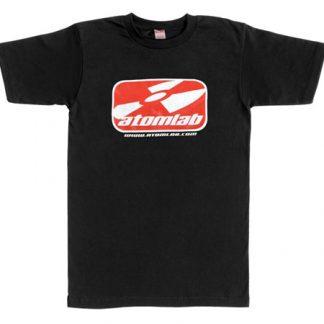 Atomlab - Logo T-shirt, Svart