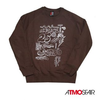 AtmosFair - 25 YoMB Sweater, Brun