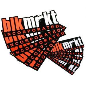Blk Mrkt - Klistermärken Set