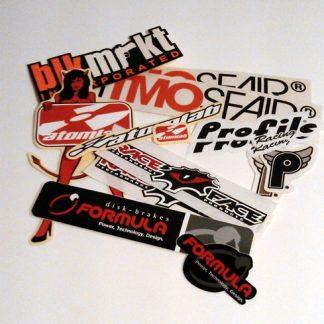 Brands - Kit Klistermärken