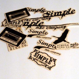 Simple - Klistermärken Kit