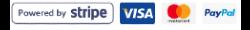 Betala med Stripe (kort)eller Paypal
